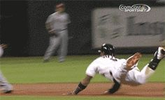 The butt slide became a part of our lives. | The 89 Funniest Sports GIFs Of 2013