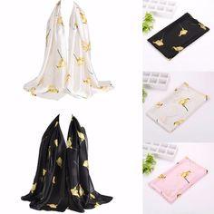 Pretty Long Soft Women Fashion Chiffon Scarf Wrap Shawl Stole Scarves Fashion #Unbranded #Scarf