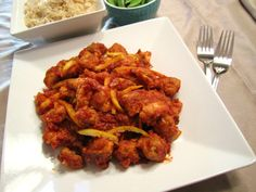 Orange Peel Chicken ~ no deep frying, no msg - just real flavour from real food