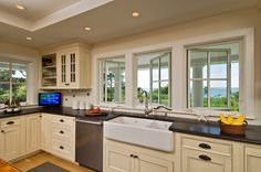 Distressed White Kitchen Cabinets | Classic Kitchens and Interiors, Custom Kitchen Cabinets, Bathrooms ...