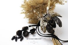 Lesage, Brooch, Wreaths, Embroidery, Fall, How To Make, Jewelry, Collections, Fiber
