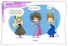 Pocket Princesses 132: Static Please reblog, do not... (My Junk Drawer)