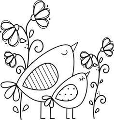 Potential embroidery pattern