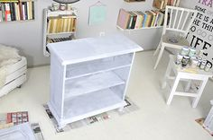 Nightstand, Bookcase, Home And Garden, Shelves, Table, Painting, Furniture, Home Decor, Creative