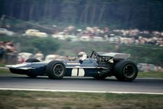 Jackie Stewart (GBR) (Tyrrell Racing Organisation), March 701 - Ford-Cosworth DFV 3.0 V8 (RET)  1970 German Grand Prix, Hockenheimring