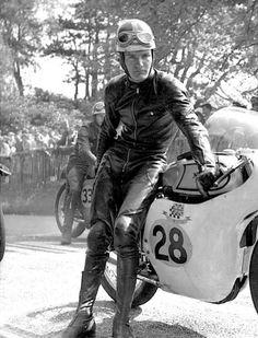 "Mike ""The Bike"" Hailwood & Norton"