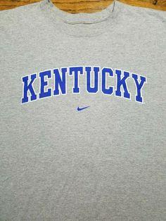 99d3b860d64d University of Kentucky Wildcats t-shirt Adult 2XL Gray Nike NCAA SEC  Lexington  Nike