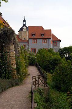Dornburger Schlösser in Thüringen. Das alte Schloss.