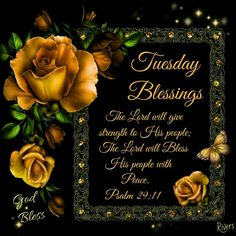 Tuesday Blessings