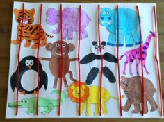 31 Best Zoo Animal Craft Idea Images Toddler Crafts Zoo Animal