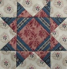 ' Missouri Star ' quilt block |      Barbara Brackman  Civil War Quilt
