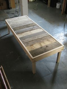 ..coffee table in progess.. by FloodingFactory, via Flickr