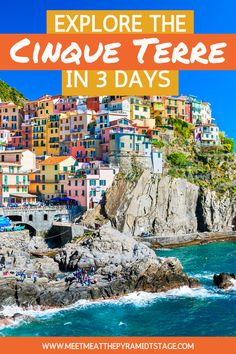 The Cinque Terre should be at the top of every Italian travel bucket-list. Hiking, swimming, excellent food and drinks, in one of the most beautiful settings on the planet, this is one destination not to miss. #cinqueterre #cinqueterreitaly #italytravel #italyvacation #cinqueterreitaly #cinqueterrethingstodo #summerholiday