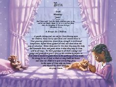 Teach A Child To Pray FROM YOUR HART Personalized Keepsakes