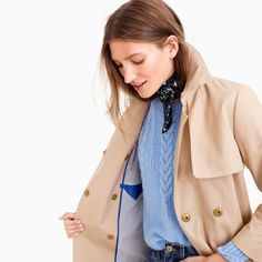 1ad751376c31c Used J Crew Belted Trench Coat for sale in New York