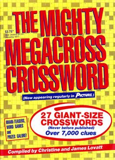 The first edition of our popular Mega Crossword magazine - published in March 1989.