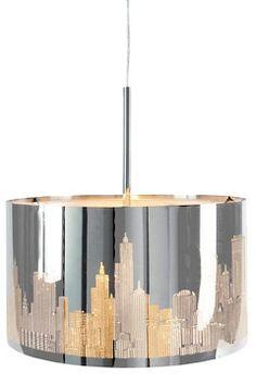 Jotex Krom BIG CITY taklampe
