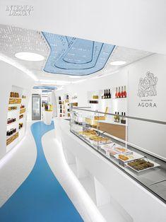 KLab Architecture Designs Market Interiors After Greek Houses