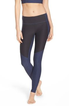 aad6cdff0f171f Outdoor Voices 'Warmup' Two-Tone Leggings $95.00 Fitness Brand, Workout  Gear,