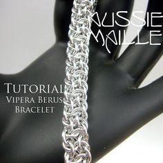 PDF Instructions detailing how to make these intricate Vipera Berus Chain Maille Bracelet.  This tutorial is aimed at an Intermediate/Advanced mailler.  This listing is for the PDF file only.....No Supplies are included. All steps have full colour images in close detail.  Upon receipt of payment, I will email you the PDF file within 24hrs.  Upon receipt of payment, an email will be sent out telling you how to download your file. If there are any problems,please let us know..  Tutorials are…