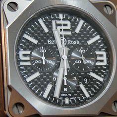 201a88df410e Bell   Ross BR01-94 Pro Titanium Carbon Fiber Watch Rolex Watches