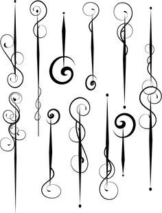 curved lines and doodles Doodles Zentangles, Zentangle Patterns, Tattoo Painting, Motif Floral, Pinstriping, Pyrography, Doodle Art, Swirls, Line Art