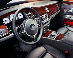 #RollsRoyce #Phantom  Credits ©Unknown  #car #interior #carinterior #luxury #design