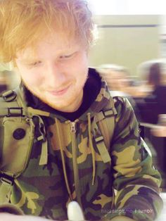 Everything around you is blurry, because you're the only thing that matters