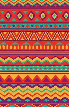 'Aztec Pattern' Case/Skin for Samsung Galaxy by Steph Gibbons Aztec Print Patterns, Ethnic Patterns, Aztec Prints, Pattern Drawing, Pattern Art, Aztec Wallpaper, Tribal Pattern Wallpaper, Armband Tattoos, Cultural Patterns