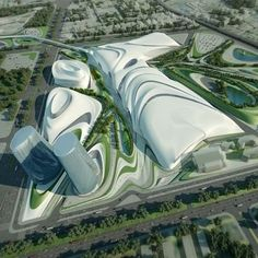 Arch power: Cairo Expo City by Zaha Hadid Architects