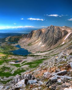 Approaching Medicine Bow Peak in the Medicine Bow National Forest, WY
