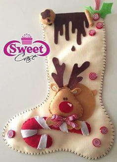 Felt Christmas Stockings, Christmas Wreaths To Make, Christmas Nativity, Christmas Crafts For Kids, Xmas Crafts, Felt Crafts, Christmas Time, Diy And Crafts, Christmas Gifts