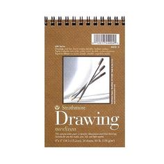 Strathmore 400 Series Drawing Paper Pad (€4,99) ❤ liked on Polyvore featuring home, home decor, stationery, fillers, books, art, accessories, extras and magazine