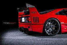Ferrari F40, Weird Cars, Mustang Cars, Sweet Cars, Top Cars, Motor Car, Luxury Cars, Vintage Cars, Race Cars