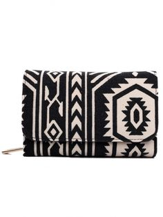 Fashionable canvas printed flapover purse, available in a range of colours and styles. Made from high quality canvas and faux leather interior. Leather Interior, Aztec, Zip Around Wallet, Canvas Prints, Fancy, Colours, Purses, Bags, Accessories