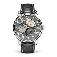 See the Schwarz Etienne La Chaux-de-Fonds Tourbillon TSE watch - Movement : Self-winding mechanical - Case : Steel Omega Seamaster Planet Ocean, Tourbillon, Bronze, Watches, Masters, Accessories, Benefit, Design, Products