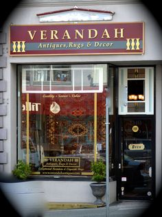 Come explore Verandah Antiques! They've opened their new shop on South Granville at 2410 Granville Street.