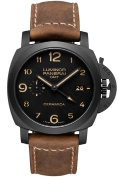 Luminor 1950 3 Days GMT Automatic Ceramica - 44mm PAM00441 - Collection Luminor 1950 - Officine Panerai Watches