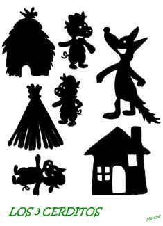 6 Boredom-Busting Crafts for the Entire Family Shadow Theatre, Toy Theatre, Winter Crafts For Kids, Art For Kids, Library Activities, Silhouette Curio, Three Little Pigs, Shadow Play, Shadow Puppets