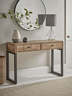 NEW Loft Storage Console – Console Tables – Luxury Modern Tables – Modern Home Furniture Loft Furniture, Hallway Furniture, Modern Home Furniture, Plywood Furniture, Living Furniture, Table Furniture, Hallway Table Decor, Hallway Decorating, Entryway Decor