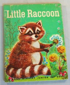 LITTLE RACCOON, i want this in my collection.