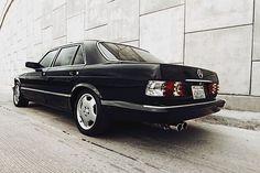 Find used Custom Mercedes Benz W126 420sel black on black in La Jolla, California, United States