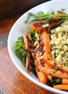 ... Salad with Chili Lime Sesame Dressing. Vegan Glutenfree Recipe   Vegan