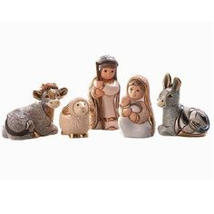 Ceramic Nativity Scene | Christmas Figurines | De Rosa Collection