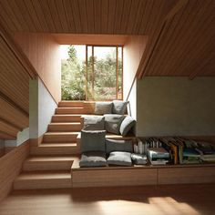 Home Interior Design, Interior Architecture, Interior And Exterior, Houses In Germany, Escalier Design, House Address, Living Roofs, Deco Design, Staircase Design
