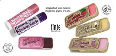 Flavored Lip Licking Lip balms in vintage slider tins are back along with our Kissing Stick Flavored Lip balms All natural & organic. find them at tinte cosmetics Glossier Lip Gloss, Flavored Lip Gloss, 80s Makeup, Cream Soda, Lip Balms, Glossy Lips, Sliders, Shea Butter, The Balm