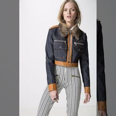 Fiquei apaixonada   jaqueta jeans c/ couro de 99900 por... <3 GANHE MAIS DESCONTO ? CLIQUE AQUI!  http://imaginariodamulher.com.br/look/?go=2sL2hWc  #achadinhos #modafeminina#modafashion  #tendencia #modaonline #moda #instamoda #lookfashion #blogdemoda #imaginariodamulher