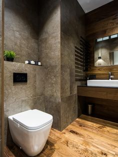 Apartments In St. Petersburg - Picture gallery - Samantha James- - Apartments In St. Petersburg - Picture gallery Apartments In St. Modern Bathroom Design, Bathroom Interior Design, Modern Interior Design, Interior Design Inspiration, Interior Architecture, Modern Interiors, Bathroom Toilets, Small Bathroom, Brown Bathroom