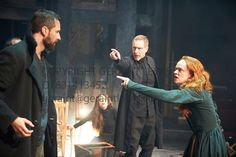 The Crucible by Arthur Miller, directed by Yael Farber. With  Richard Armitage as John Proctor, Adrian Schiller as Reverend John Hale, Saman...