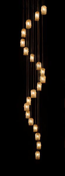 Trade Only Design :: Breath: Mouth-Blown Glass Lighting Collection by Shakúff